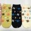 S605 **พร้อมส่ง** (ปลีก+ส่ง) ถุงเท้าแฟชั่น ข้อตาตุ่ม คละ 5 สี เนื้อดี งานนำเข้า มี 10 คู่ต่อแพ็ค thumbnail 1