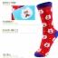 S371**พร้อมส่ง** (ปลีก+ส่ง) ถุงเท้าแฟชั่นเกาหลี ข้อยาว เนื้อดี งานนำเข้า(Made in china) thumbnail 3