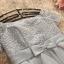ชุดราตรีสั้น ใส่ออกงานสวยมากๆ ตัวเสื้อเป็นผ้าลูกไม้ถักสีเทา thumbnail 6