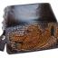 กระเป๋าสตางค์ยาวสีน้ำตาลลายเสือ แบบ 2 พับ พร้อมโซ่ Line id : 0853457150 thumbnail 5