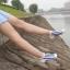 S566 **พร้อมส่ง** (ปลีก+ส่ง) ถุงเท้าแฟชั่น ข้อตาตุ่ม คละ5 สี มี 10 คู่ต่อแพ็ค เนื้อดี งานนำเข้า thumbnail 8