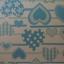 กระดาษห่อของขวัญ คละ 10 ลาย 100 แผ่น thumbnail 4