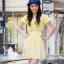เสื้อผ้าแฟชั่น สุด Chic ชุดเดรส ชีฟอง คอเหลี่ยม รหัส MN130_1 thumbnail 1