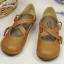 [พร้อมส่ง ] & Pre-Ordr รองเท้าตุ๊กตา-สีน้ำตาล thumbnail 9