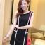 เสื้อผ้าแฟชั่น ชุดเดรสแฟชั่น สีดำ ใส่ทำงาน หรือใส่เที่ยวสวยมากๆ ครับ thaishoponline.net (พร้อมส่ง) thumbnail 1