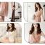 เสื้อผ้าแฟชั่น CHU VIVI DRESS ชุดเดรสแฟชั่นเกาหลี ใส่ทำงาน คอวี แขนกุด ผ้าชีฟอง สีชมพู แต่งกระโปรง 2 ชั้น จั๊มเอว น่ารัก สามารถใส่ออกงานได้ thaishoponline (พร้อมส่ง) thumbnail 8