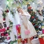 ชุดเดรสสไตล์เจ้าหญิง ผ้าลูกไม้ปักลายสีขาว งานปักละเอียดสวยมากๆ thumbnail 4
