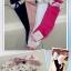 U041**พร้อมส่ง** (ปลีก+ส่ง) ถุงเท้าแฟชั่น เด็กหญิง ข้อยาว แต่งลูกไม้ เนื้อดี งานนำเข้า ( Made in China) thumbnail 12