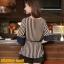 เสื้อทำงาน แฟชั่นเกาหลี เสื้อชีฟองแฟชั่น ลายตรง สีกรมท่า+น้ำตาลอ่อน ใส่เป็นชุดทำงาน สวยมากๆครับ (พร้อมส่ง) thumbnail 4