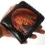 กระเป๋าสตางค์สีดำ ลายอินเดียแดง 2 พับ thumbnail 3