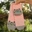 S276**พร้อมส่ง** (ปลีก+ส่ง) ถุงเท้าแฟชั่นเกาหลี ข้อยาว ลายแมว เนื้อดี งานนำเข้า(Made in China) thumbnail 17