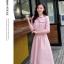 เสื้อผ้าแฟชั่น set เสื้อ และกระโปรงสีชมพูสวยมากๆ thumbnail 2