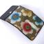 กระเป๋าปลากระเบน 3 พับ ใบเล็ก ลายดอกไม้ thumbnail 2