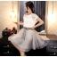 แฟชั่นเกาหลี set 2 ชิ้น เสื้อและกระโปรงสุดสวย thumbnail 2