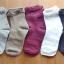 S401**พร้อมส่ง** (ปลีก+ส่ง) ถุงเท้าแฟชั่น ข้อยาว แต่งระบาย คละ5 สี เนื้อดี งานนำเข้า มี 10 คู่ต่อแพ็ค thumbnail 5