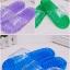 K021 **พร้อมส่ง** (ปลีก+ส่ง) รองเท้านวดสปา เพื่อสุขภาพ ปุ่มเล็ก(ใส)แบบนิ่ม มี 6 สี thumbnail 4