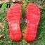 K017-RD **พร้อมส่ง** (ปลีก+ส่ง) รองเท้านวดสปา เพื่อสุขภาพ ปุ่มเล็ก สำหรับผู้หญิง สีแดง ส่งคู่ละ 120 บ. thumbnail 3