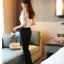 เสื้อผ้าเกาหลี Style good you เสื้อผ้าลูกไม้ สีครีมทอง แต่งระบายที่หน้าอก แขนตุ๊กตา คอติด มีซับในสวยเหมือนแบบครับ (เนื้อผ้าดี เกรด A) พร้อมส่ง thumbnail 7