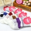 S360**พร้อมส่ง** (ปลีก+ส่ง) ถุงเท้าแฟชั่นเกาหลี ข้อยาว คละ 5 สี มี 12 คู่ต่อแพ็ค เนื้อดี งานนำเข้า(Made in China) thumbnail 4