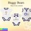 ชุด เด็กอ่อน Huggy Bears These lovely animals เซ็ท 3 ตัว ราคา 230 บาท ปกติ 690 บาท thumbnail 1