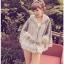 [พรีออเดอร์] เสื้อคลุมขอบลูกไม้น่ารัก thumbnail 3