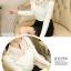 เสื้อผ้าลูกไม้ สีขาว แขนยาว คอปก แฟชั่นมาใหม่ thumbnail 5