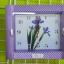 นาฬิกาผนัง 8.5 x 7.5 นิ้ว คละลาย 6 ชิ้น รหัส 218 thumbnail 1