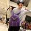กระเป๋าเป้สะพายหลังผู้หญิง แฟชั่นเกาหลี TIANCAI (สีม่วง) thumbnail 1