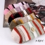 S352 **พร้อมส่ง** (ปลีก+ส่ง) ถุงเท้าแฟชั่นเกาหลี ข้อยาว คละ 5 สี มี 10 คู่/แพ็ค เนื้อดี งานนำเข้า(Made in China) thumbnail 5