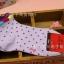 S053**พร้อมส่ง** (ปลีก+ส่ง) ถุงเท้าแฟชั่นเกาหลี ข้อสั้น ลายจุด เนื้อดี งานนำเข้า(Made in china) thumbnail 4