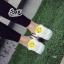 รองเท้าผ้าใบ Fashion แต่งรูปยิ้มตรงลิ้นรองเท้าและด้านหลัง เก๋ๆ thumbnail 4