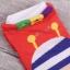 A045**พร้อมส่ง**(ปลีก+ส่ง) ถุงเท้าแฟชั่นเกาหลี ข้อสั้น มี 5 แบบ เนื้อดี งานนำเข้า( Made in Korea) thumbnail 3