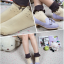 [พิเศษ 2 คู่ 100 ] ถุงเท้าพับข้อแต่งระบายน่ารักมีสีใหเลือก 5 สี thumbnail 5