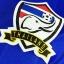 เสื้อฟุตบอลทีมชาติไทย ติดอาร์มบอลโลก และ ชื่อเบอร์นักฟุตบอล สีน้ำเงิน thumbnail 3