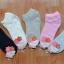 S364**พร้อมส่ง** (ปลีก+ส่ง) ถุงเท้าแฟชั่นเกาหลี ข้อสั้น แต่งขอบย่น เนื้อดี งานนำเข้า(Made in china) thumbnail 1