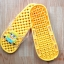 K011-DYL **พร้อมส่ง** (ปลีก+ส่ง) รองเท้านวดสปา เพื่อสุขภาพ ปุ่มเล็ก ลายมินเนี่ยน สีเหลือง thumbnail 5