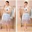 แฟชั่นเกาหลี set เสื้อและกระโปรง สวยเก๋ thumbnail 8