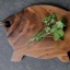 Acacia Wood Pig Shaped Chopping Board, Imported thumbnail 2