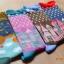 S249**พร้อมส่ง** (ปลีก+ส่ง) ถุงเท้าแฟชั่นเกาหลี ข้อยาว ขอบระบาย คละ 4 ลาย มี 12 คู่ต่อแพ็ค เนื้อดี งานนำเข้า(Made in China) thumbnail 14