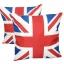 หมอนอิง ลายธงชาติอังกฤษ สวยๆ งามๆ ผ้ากระสอบอย่างหนา ขนาด 18 x 18 นิ้ว ขายที่ละเป็นคู่ thumbnail 1