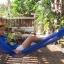เปลเชือก Nylon พูกกับเสาบ้าน หรือต้นไม้ในนั่งเล่น thumbnail 2