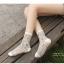 S335**พร้อมส่ง** (ปลีก+ส่ง) ถุงเท้าแฟชั่นเกาหลี ข้อยาว คละ 5 สี มี 10 คู่/แพ็ค เนื้อดี งานนำเข้า(Made in China) thumbnail 16