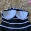 ชุดว่ายน้ำวันพีช สายเดี่ยวสีดำ ตัดขอบด้วยสายเส้นสีขาว สวยมากๆ thumbnail 7