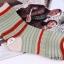 S352 **พร้อมส่ง** (ปลีก+ส่ง) ถุงเท้าแฟชั่นเกาหลี ข้อยาว คละ 5 สี มี 10 คู่/แพ็ค เนื้อดี งานนำเข้า(Made in China) thumbnail 16