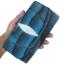 กระเป๋าสตางค์ปลากระเบน แบบ 3 พับ เม็ดใหญ่ ลวดลาย คลื่นน้ำ สีน้ำเงิน และตัดด้วยสีดำ คุ้มค่า เพราะมีช่องใส่บัตรต่าง ๆหลายช่อง Line id : 0853457150 thumbnail 2