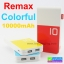 Power bank Remax Colorful 10000 mAh ลดเหลือ 479 บาท ปกติ 1,275 บาท thumbnail 1