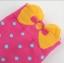 A033**พร้อมส่ง** (ปลีก+ส่ง)ถุงเท้าแฟชั่นเกาหลี โบว์ลายจุด ข้อสูง มี 8 สี ดำ เทา ฟ้า แดง ม่วง เหลือง ชมพู ขาว เนื้อดี งานนำเข้า (Made in Korea) thumbnail 2