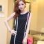 เสื้อผ้าแฟชั่น ชุดเดรสแฟชั่น สีดำ ใส่ทำงาน หรือใส่เที่ยวสวยมากๆ ครับ thaishoponline.net (พร้อมส่ง) thumbnail 5
