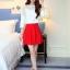 แฟชั่นเกาหลี set เสื้อ และกระโปรง สวยมากครับ thumbnail 6