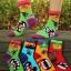A052**พร้อมส่ง**(ปลีก+ส่ง) ถุงเท้าแฟชั่นเกาหลี ข้อสูง มี 4 แบบ เนื้อดี งานนำเข้า( Made in Korea) thumbnail 5